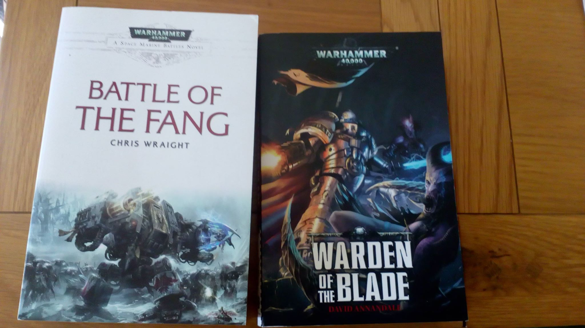 Double 40k Book Review